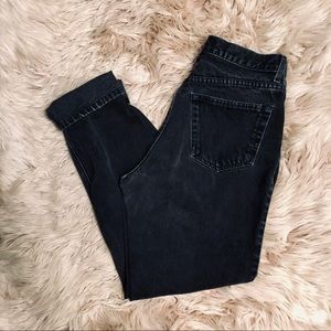 GAP Jeans - GAP straight leg mom jeans
